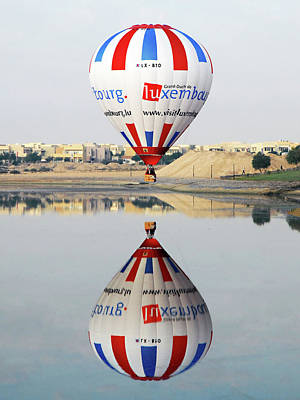Reflective Balloon Poster by Graham Taylor
