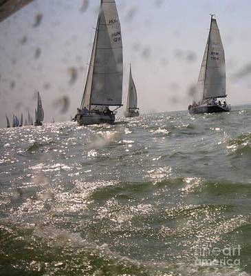Regatta On The Balaton Lake Poster