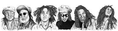 Reggae Masters Poster by Scott Moore