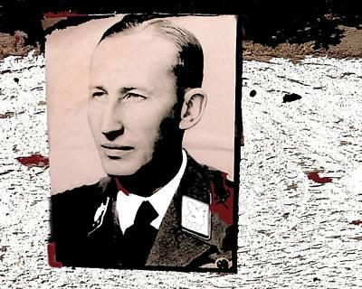 Reinhard Heydrich Lidice Memorial Near Prague Czech Republic Collage 2016 Poster