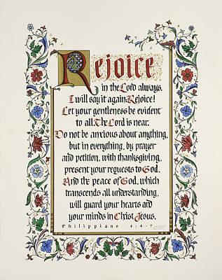 Rejoice II Poster