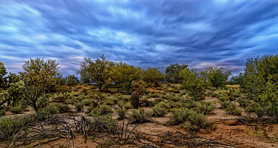 Poster featuring the photograph Rejuvenation Op19 by Mark Myhaver