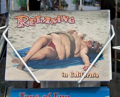 Relaxing In Ca Poster