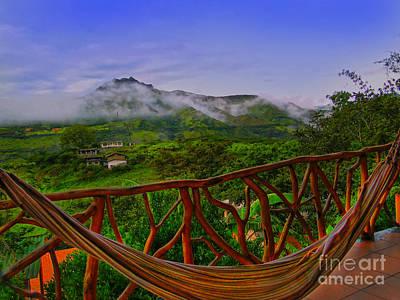 Relaxing In Vilcabamba - Ecuador Poster