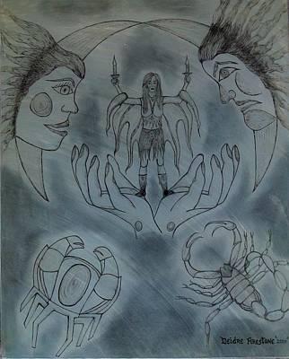 Release Me Poster by Deidre Firestone
