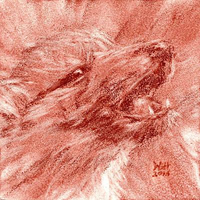 Seedling Wolf 0009 Poster by David Herman