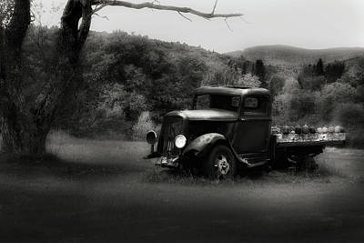 Poster featuring the photograph Relic Truck by Bill Wakeley