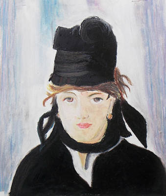 Remake Portrait Of Berthe Morisot Poster by Keshava Shukla