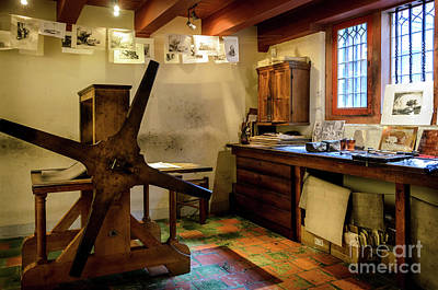 Poster featuring the photograph Rembrandt's Former Graphic Workshop In Amsterdam by RicardMN Photography