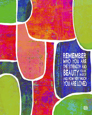 Remember Poster by Lisa Weedn
