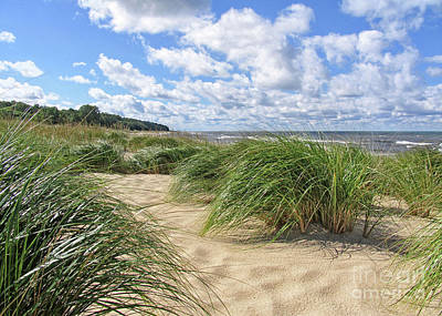 Remembering Summer Beach Scenes Poster