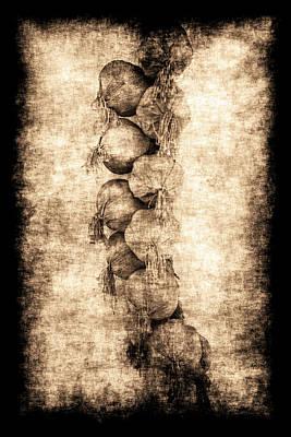 Renasiaance Garlic Poster