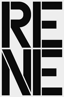 Rene Poster