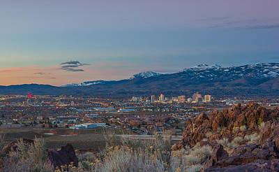 Reno Spring Sunrise Poster by Scott McGuire