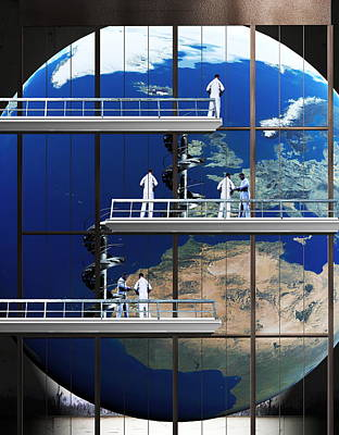 Repairing Earth Poster