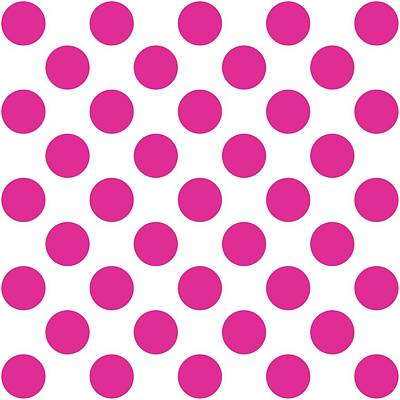 Repeating Circle Pattern - Custom Colors Poster by Mark E Tisdale