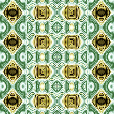 Repeating Patterns No. 13 Poster