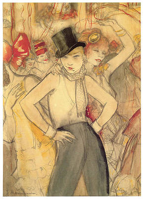 Representing Poster by Jeanne Mammen