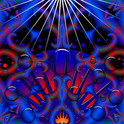 Poster featuring the digital art Resist by Robert Orinski