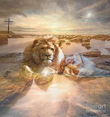 Divine Rest Poster