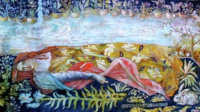 Resting By The Stream Poster by Tanya Ilyakhova