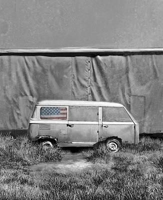Resting Van 2 Poster