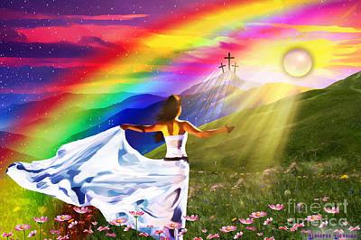 Resurrection  Poster by Dolores Develde