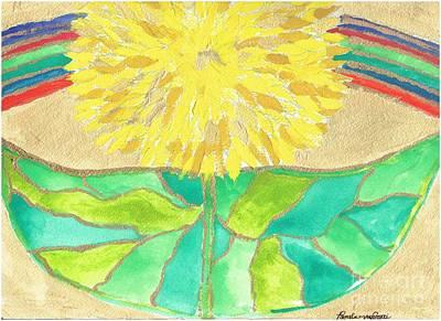 Resurrection Flower I Poster by Pamela Von Gizycki