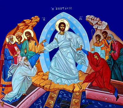 Resurrection In The Bible Poster