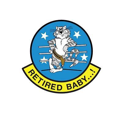 Retired Baby - Tomcat Poster