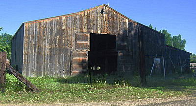 Poster featuring the photograph Retired Barn by Tammy Sutherland