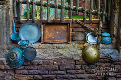 Retired Cookware  Poster by Gary Keesler