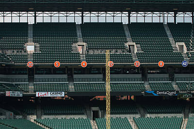 Retired Numbers Of The Orioles Greatest Ever Poster
