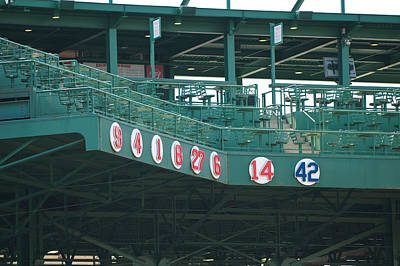 Retired Numbers Poster