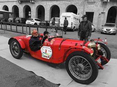 Retro Auto Fiat Balilla Poster