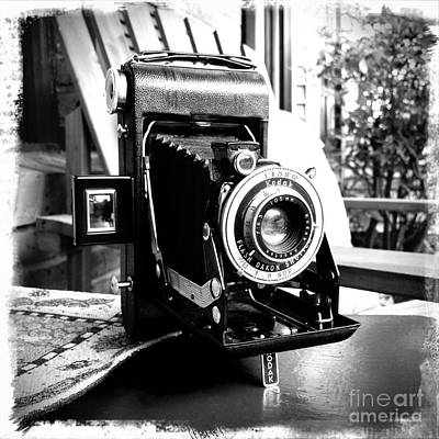Poster featuring the photograph Retro Camera by Daniel Dempster