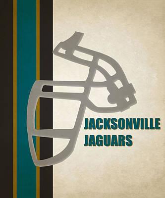 Retro Jaguars Art Poster by Joe Hamilton