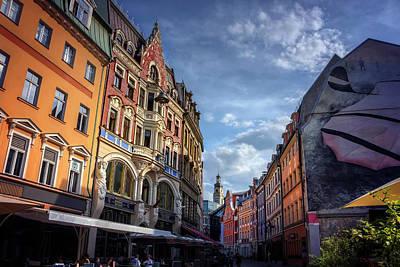 Retro Riga Poster by Carol Japp