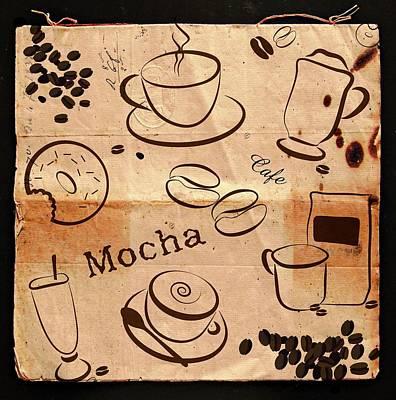 Retro Style Coffee Design Poster