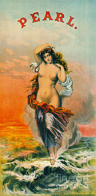 Retro Tobacco Label 1871 Poster
