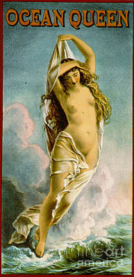 Retro Tobacco Label 1875 Poster by Padre Art