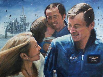 Return Of Columbia Poster by Simon Kregar