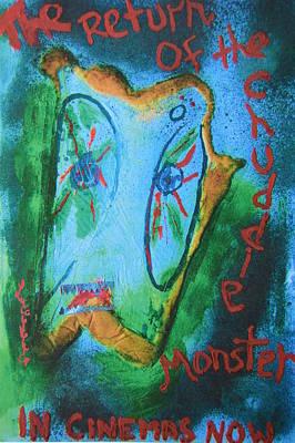Return Of The Chuddie Monster Poster by Luci Ferguson