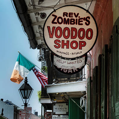 Reverend Zombie's House Of Voodoo Poster by Chrystal Mimbs