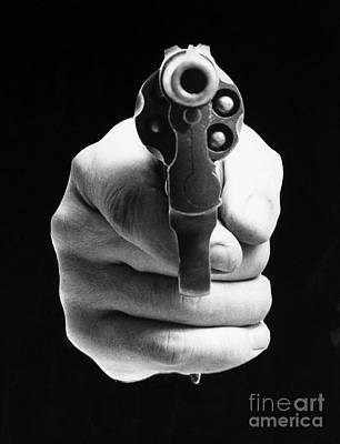 Revolver Aimed At You Poster by Granger