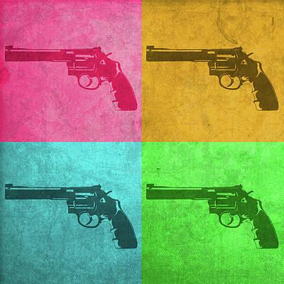 Revolver Vintage Pop Art Poster