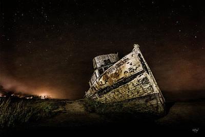 Reyes Shipwreck Poster by Everet Regal