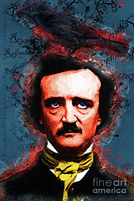 Reynolds I Became Insane With Long Intervals Of Horrible Sanity Edgar Allan Poe 20161102 Text Poster