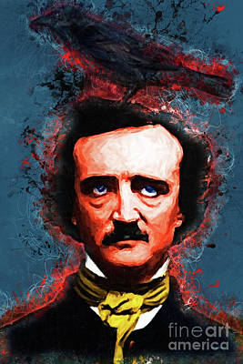 Reynolds I Became Insane With Long Intervals Of Horrible Sanity Edgar Allan Poe Poster