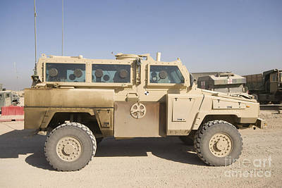 Rg-31 Nyala Armored Vehicle Poster by Terry Moore